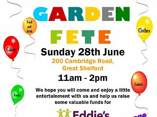 Charity Fete 28th June 2015
